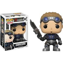 Gears Of War: Damon Baird POP! Vinyl Figur (#197)