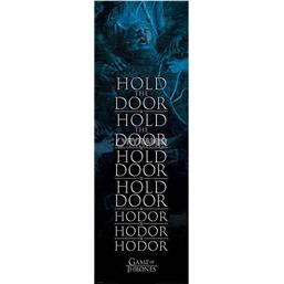 Hold the Door Hodor - Dør Plakat