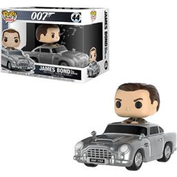 James Bond 007: Sean Connery & Aston Martin POP! Rides Vinyl Figur (#44)