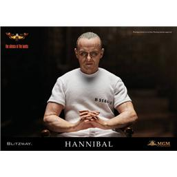 Hannibal Lecter White Prison Uniform Action Figur 1/6