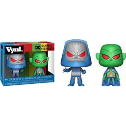 Martian Manhunter & Darkseid VYNL Vinyl Figurer 10 cm