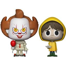 It: Pennywise & Georgie VYNL Vinyl Figurer 10 cm