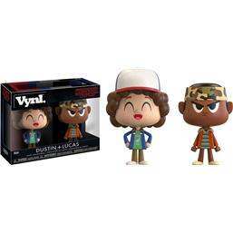 Stranger Things: Dustin & Lukas VYNL Vinyl Figurer 10 cm