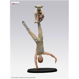 Yoda & Luke Skywalker Dagobah Training Elite Collection Statue 26 cm