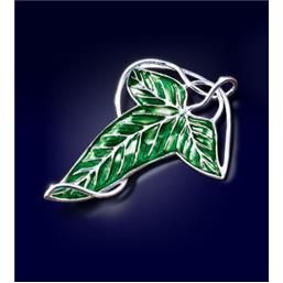 Lord Of The Rings: Elven Leaf Brooch Replica (sølv belagt)