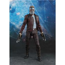 Star-Lord S.H. Figuarts Action Figur med Explosion