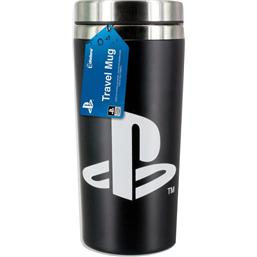 Sony Playstation: Playstation Button Travel Mug
