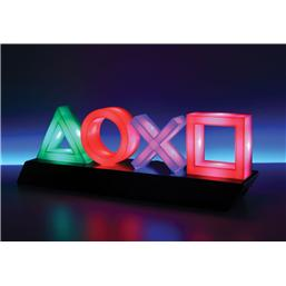 Playstation Button Lampe