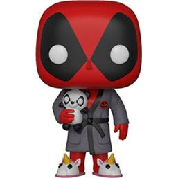 Deadpool i badekåbe POP! Vinyl Figur