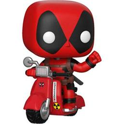 Deadpool: Deadpool på Scooter POP! Ridez Vinyl Figur