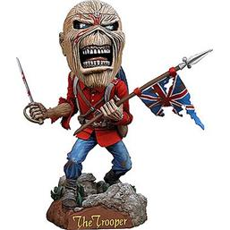 Iron Maiden: Eddie The Trooper Head Knocker 18 cm