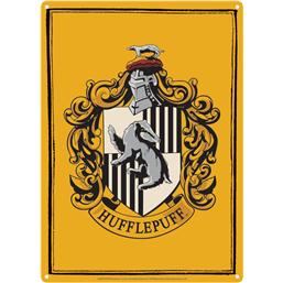 Harry Potter: Hufflepuff Tin Skilt