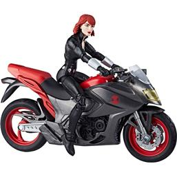 Black Widow på Motorcykel (Marvel Legends)