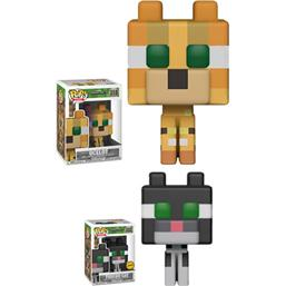Minecraft: Ocelot POP! Games Vinyl Figur (#318)
