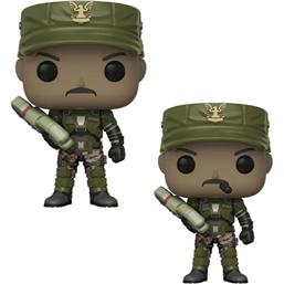 Halo: Sgt. Johnson POP! Games Vinyl Figur