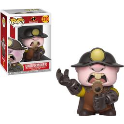 Incredibles: Underminer POP! Vinyl Figur (#370)