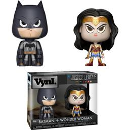 Wonder Woman & Batman VYNL Vinyl Figurer 10 cm