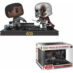 Star Wars: Finn vs Captain Phasma  POP! Movie Moments Vinyl Bobble-Head 2-Pak