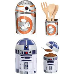 Star Wars: BB-8 og R2-D2 Metal Dåser