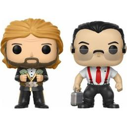 WWE: IRS & Million Dollar Man POP! Vinyl Figur 2-Pak