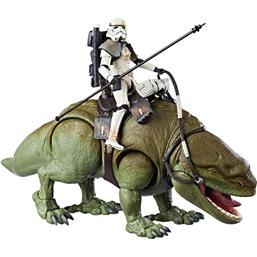 Dewback med Sandtrooper Black Series Action Figur