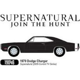 Supernatural: Dodge Charger 1970 Diecast 1/18