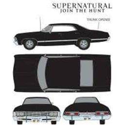 Supernatural: Chevrolet Impala Sport Sedan 1967 Diecast 1/24