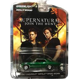 Supernatural: Chevrolet Impala Sedan Limited Edition 1967 Diecast 1/64