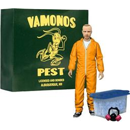 Breaking Bad: Jesse Pinkman i Orange Hazmat Action Figur (Heo Exclusive)