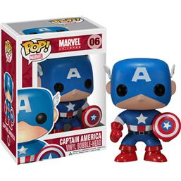 Captain America POP! Vinyl Bobble-Head (#06)