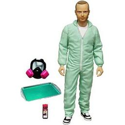 Breaking Bad: Breaking Bad Action Figure Jesse Pinkman in Blue Hazmat Suit Previews Exclusive 15 cm