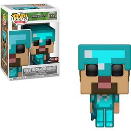 Minecraft: Steve i Diamond Amor POP! Vinyl Figur (#322)