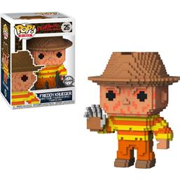 A Nightmare On Elm Street: Freddy Krueger POP! 8-Bit Vinyl Figur (#25)