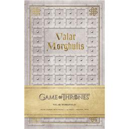 Game Of Thrones: Valar Morghulis Notesbog