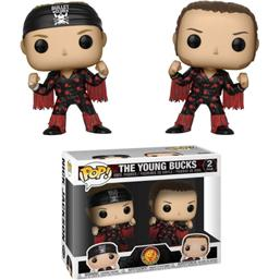 WWE: Young Bucks (Bullet Club) POP! Vinyl Figur 2-Pak