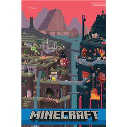 Minecraft: World plakat
