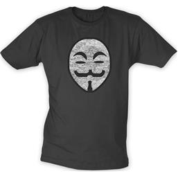 V For Vendetta: Vengeance Hero t-shirt