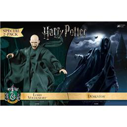 Harry Potter: Dementor & Voldemort Action Figur 2-Pak 1/8