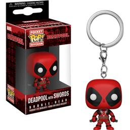 Deadpool 2 Swords Pocket POP! Vinyl Nøglering