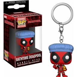 Deadpool Bathtime Pocket POP! Vinyl Nøglering