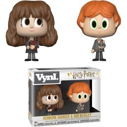 Harry Potter: Ron og Hermione VYNL Vinyl Figurer 10 cm