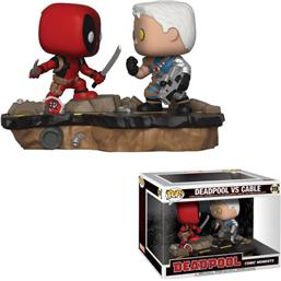 Deadpool vs. Cable POP! Movie Moments Vinyl Bobble-Head 2-Pak