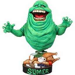 Ghostbusters: Slimer Head Knocker 18 cm
