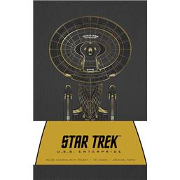 Star Trek: U.S.S. Enterprise Harccover Notesbog