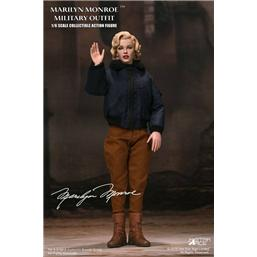 Marilyn Monroe My Favourite Legend Action Figur 1/6 Military Outfit 29 cm