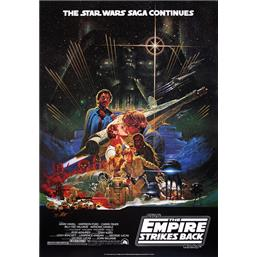 The Empire Strikes Back - Japanese plakat