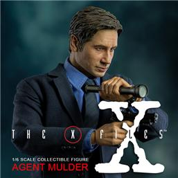 Agent Fox Mulder Action Figur 1/6