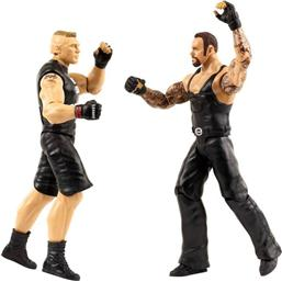 WWE: Tough Talkers Brock Lesnar og Undertaker - Talende Action Figur 2-Pak