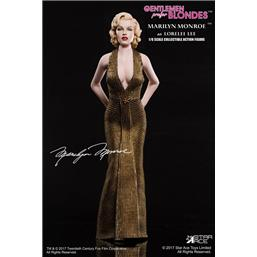 Marilyn Monroe Gold Dress My Favourite Legend Action Figur 1/6