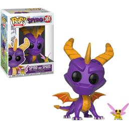 Spyro the Dragon: Spyro & Sparx POP! Games Vinyl Figur (#361)